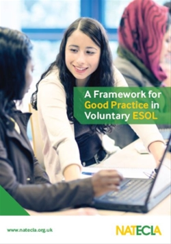 NATECLA launch their Framework for Good Practice in Voluntary ESOL