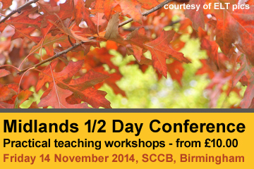 Midlands Autumn 1/2 Day Conference - 14 November 2014