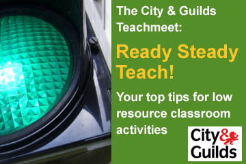 City and Guilds Teachmeet - Low resource ESOL