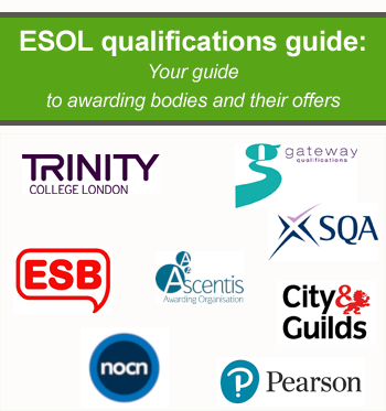 ESOL exams in UK