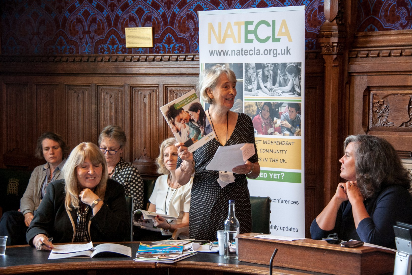 Jenny Roden launch ESOL strategy