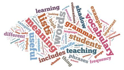 Grammar and vocabulary for ESOL
