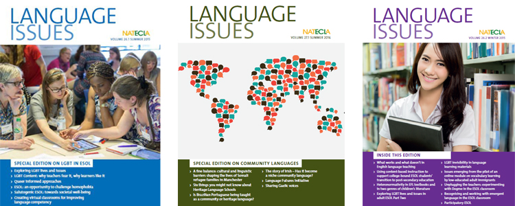 Buy articles on ESOL and community languages