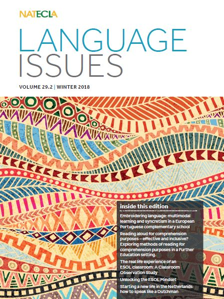 Language Issues Winter 2018/9 edition