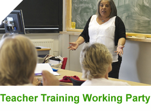 ESOL teacher training group