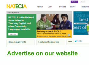 Advertise on the NATECLA website