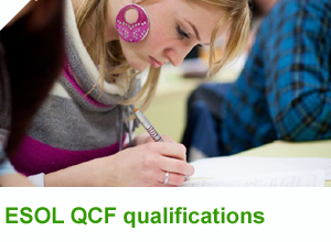 ESOL QCF qualifications