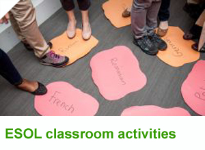 ESOL classroom activities
