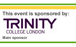 Trinity College London sponsoring this event