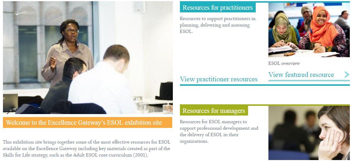 Excellence Gateway ESOL